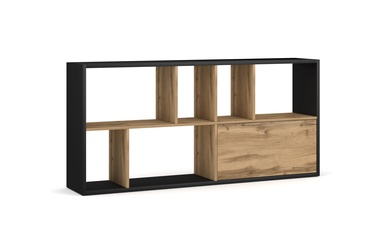 Vivaldi Meble Space Bookshelf Artisan Oak/Black
