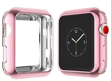 Futrālis Dux Ducis Premium Silicone Case For Apple Watch 4 44mm Pink
