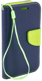 Telone Fancy Diary Bookstand Case Sony Xperia M4 Aqua Blue/Light Green