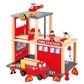 Bino Wooden Fire Station