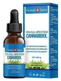Formula Swiss Cannabidiol Full Spectrum 10ml 15%