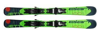 Elan Skis Alpine Skis Jett QS EL Green/Black 110cm