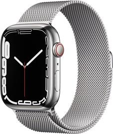 Nutikell Apple Watch Series 7 GPS + LTE 45mm Stainless Steel, hõbe