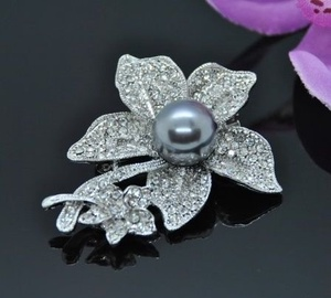 Vincento Brooch With Zirconium Crystal LD-1385
