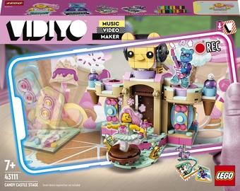 Конструктор LEGO VIDIYO Candy Castle Stage 43111, 344 шт.