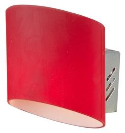 Light Prestige Saragossa Wall Lamp G9 40W Red
