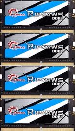 G.SKILL Ripjaws 32GB 2666MHz CL19 DDR4 KIT OF 4 SODIMM F4-2666C19Q-32GRS