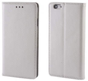 Forever Smart Fix Book Case For Samsung Galaxy Trend 2 Lite/Ace NXT Silver