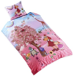 Bradley Bed Set 150x210cm Lotte With Pink Cherry Tree