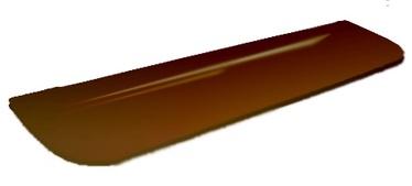 Lentynėlė Stiklita l6tr8/50, 50 x 12 x 0,8 cm