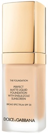 Dolce & Gabbana Matte Liquid Foundation SPF20 30ml 75