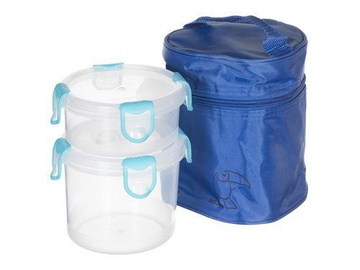 Tuckano Set Of Containers With Thermal Bag Round 2pcs