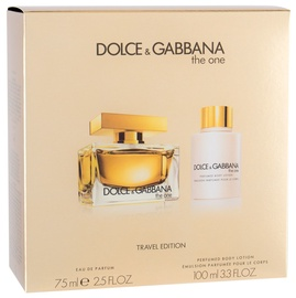 Komplekts sievietēm Dolce Gabbana The One 75 ml EDP + 100 ml Body Lotion