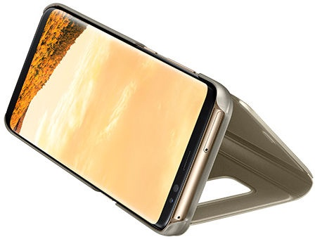 Samsung Clear View Cover For Samsung Galaxy S8 Plus Gold