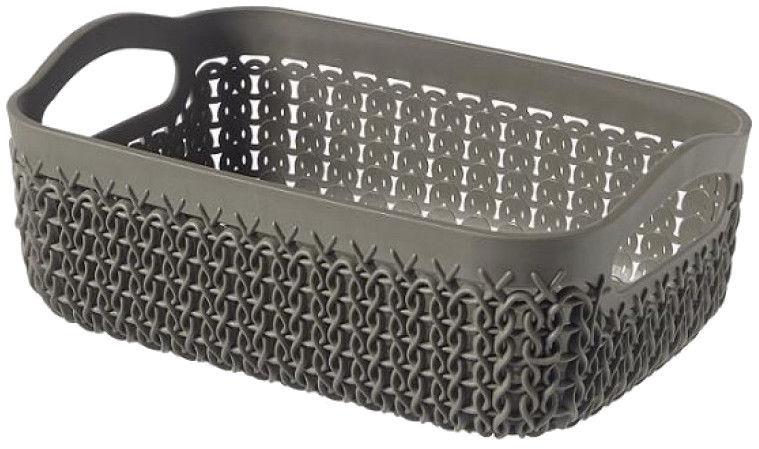 Curver Basket Set Knit A4,A5,A6 Brown