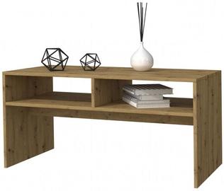 Kafijas galdiņš Top E Shop Mesa, brūna, 900x510x410 mm