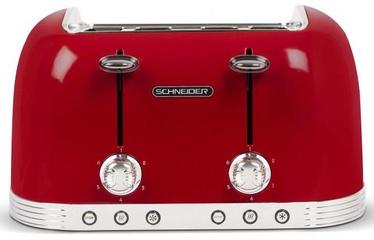Schneider SCTO4R Toaster Red