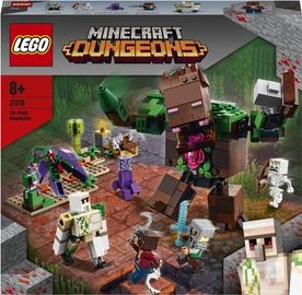 Конструктор LEGO Minecraft Мерзость из джунглей 21176, 489 шт.