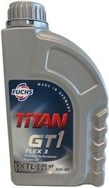 Mootoriõli Fuchs Titan GT1 Flex 3 5W - 40, sünteetiline, sõiduautole, 1 l