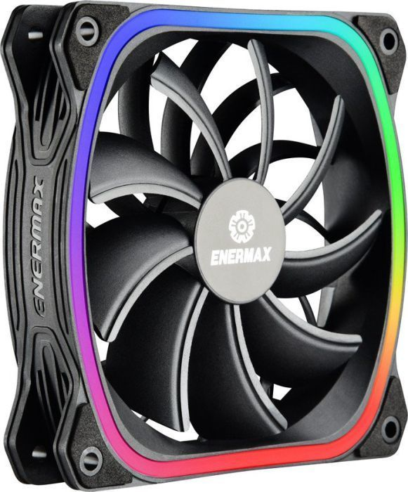 Enermax SquA RGB Fan 120 mm 3-Pack