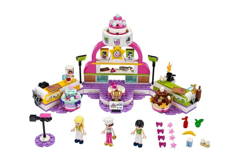 Конструктор LEGO Friends Соревнование кондитеров 41393, 361 шт.