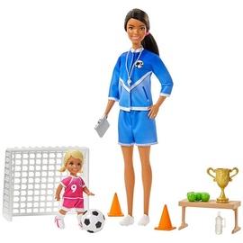 Mattel Barbie Soccer Coach Playset GJM71