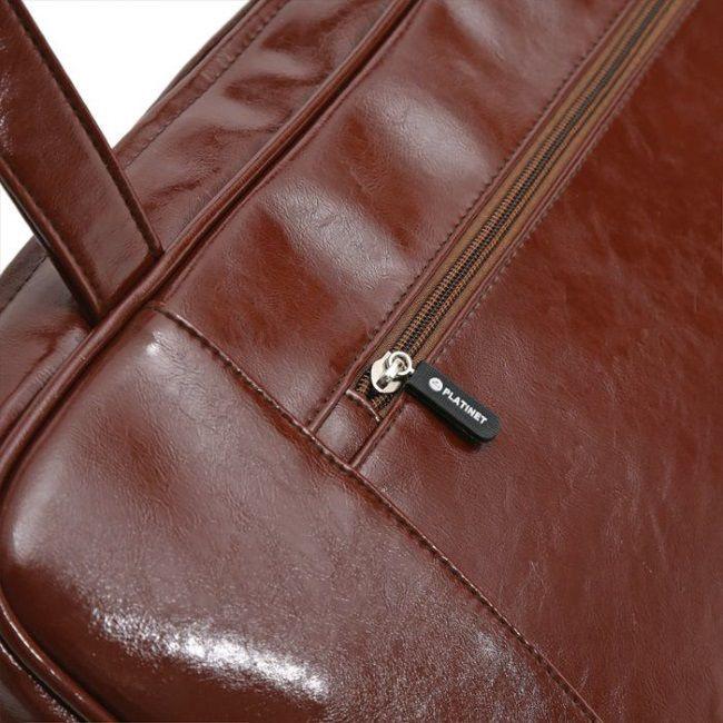 Сумка для ноутбука Platinet, коричневый, 13.3″