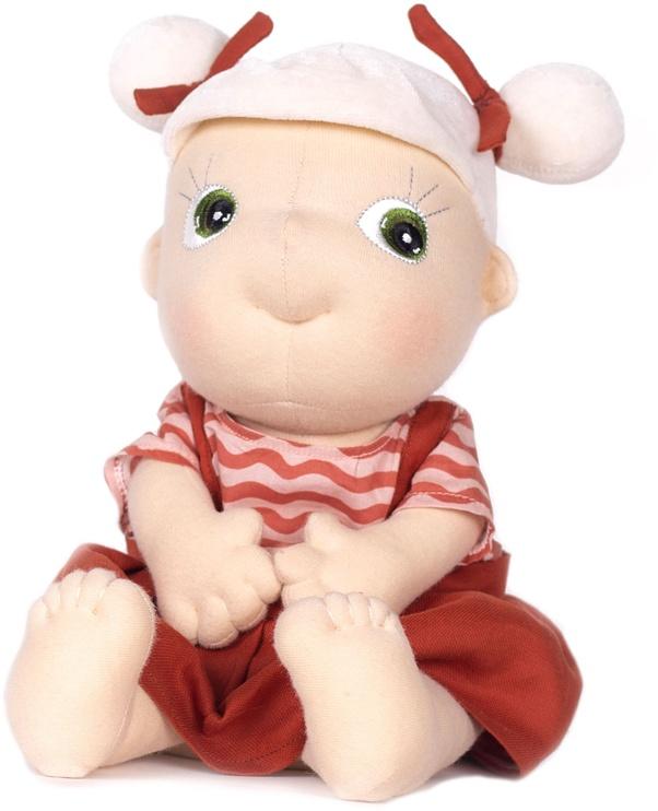 Тряпичная кукла Rubens Barn Tummies Organic Dolls Sol