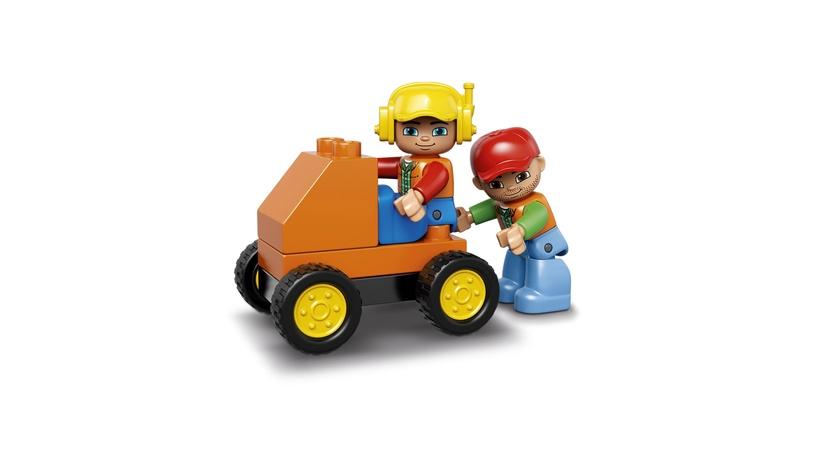 Konstruktors Lego Duplo Big Construction Site 10813