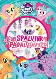Knyga My little pony. Spalvink pagal pavyzdį su lipdukais