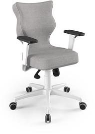 Entelo Perto White Office Chair DC18 Gray