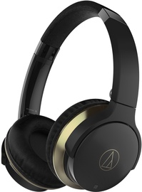 Audio-Technica ATH-AR3BT Bluetooth On-Ear Headphones w/Microphone Black