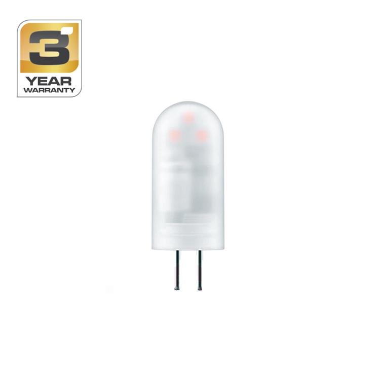 Spuldze led Standart T3, 1,7W, G4, 2700K, 205lm