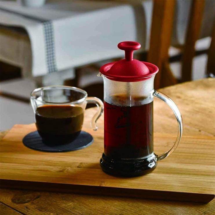Hario Cafe Press Slim 0.24L Red