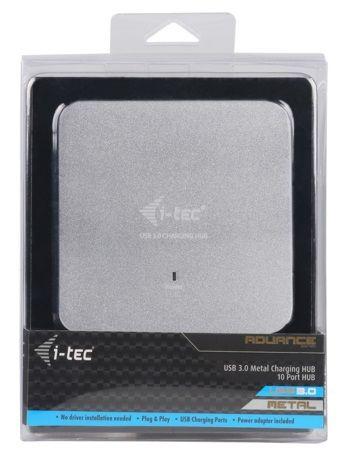 Pretec i-tec USB 3.0 Metal Charging HUB 10 Ports