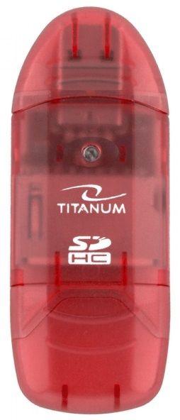 Esperanza Titanum Card Reader TA101 USB 2.0 Red