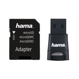 Adapteris Hama microSD/microSDHC USB 2.0