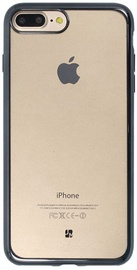 Just Must Mirror Back Cover For Apple iPhone 7 Plus Jet Black