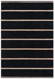 Ковер FanniK Sumu Black, черный, 200x290 см