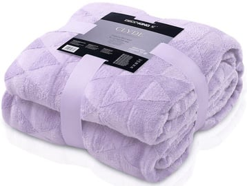 DecoKing Clyde Blanket Purple 150x200cm