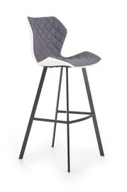 Baro kėdė H83, juoda/pilka