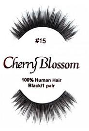 Cherry Blossom 100% Human Hair Eyelashes 15