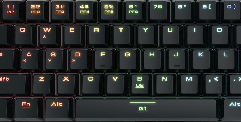 Gamdias M3 RGB Mechanical Gaming Keyboard US Black
