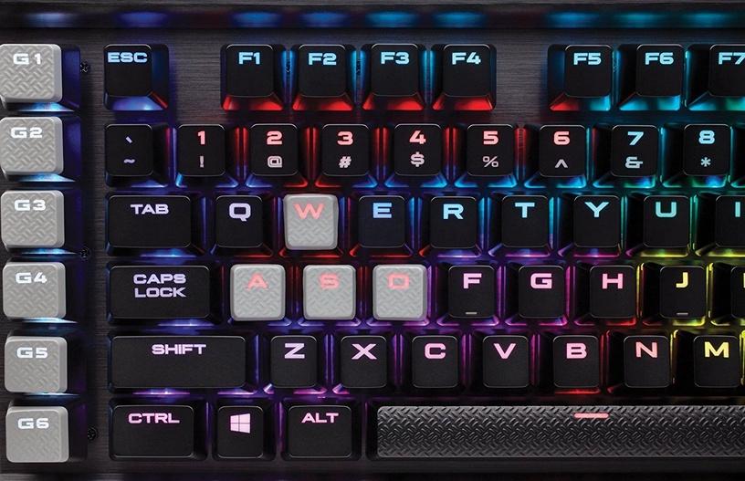 Corsair K95 RGB Platinium Mechanical Gaming Keyboard Cherry MX Brown Black NA