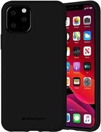 Mercury Fiber Soft Touch Matte Back Case For Apple iPhone 11 Pro Max Black
