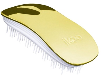 Ikoo Metallic Home Brush Soleil White