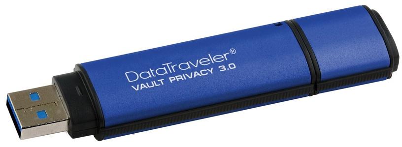 USB atmintinė Kingston DataTraveler Vault Privacy, USB 3.0, 8 GB