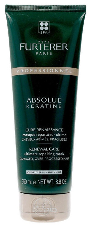 Kaukė plaukams Rene Furterer Absolue Keratine Ultimate Repairing Mask, 250 ml