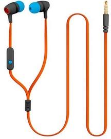 Ausinės Forever JSE-200 In-Ear Earphones Blue/Orange