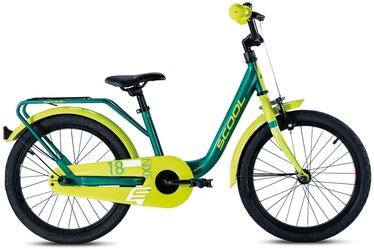 "Scool Nixe Steel 28 18"" Green/Yellow 20"